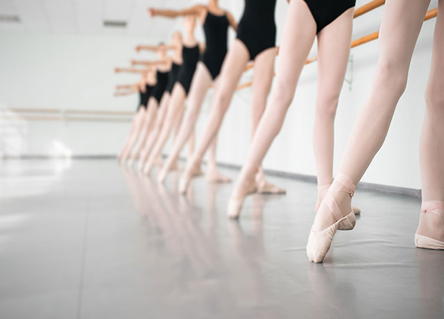 capital physiotherapy dance physio pre pointe service image