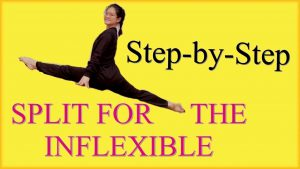 step by step split for the inflexible capital physiotherapy