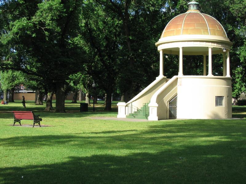 Fitzroy Memorial Rotunda Edinburgh Gardens