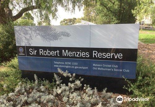 sir robert menzies reserve malvern melbourne