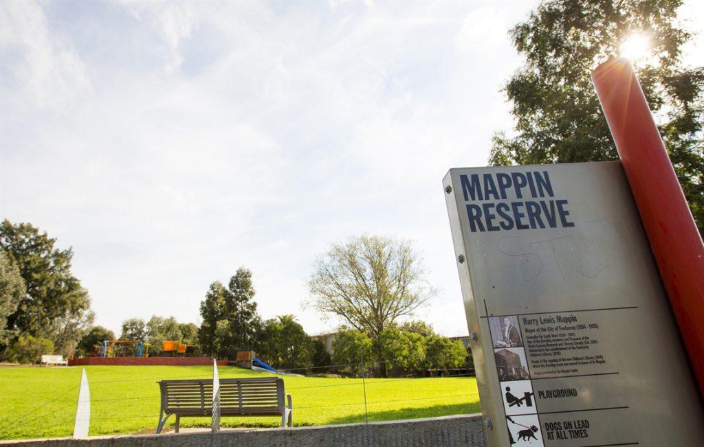 mappin reserve seddon melbourne