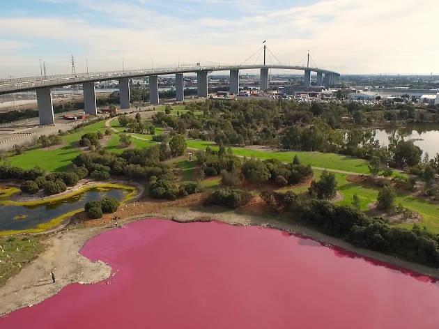 pink lake port melbourne